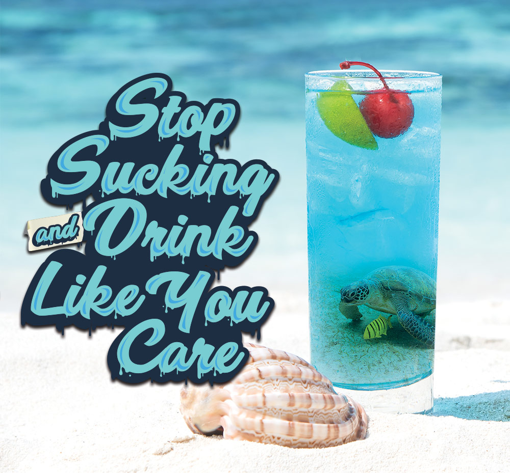 Save the Oceans - Strawless